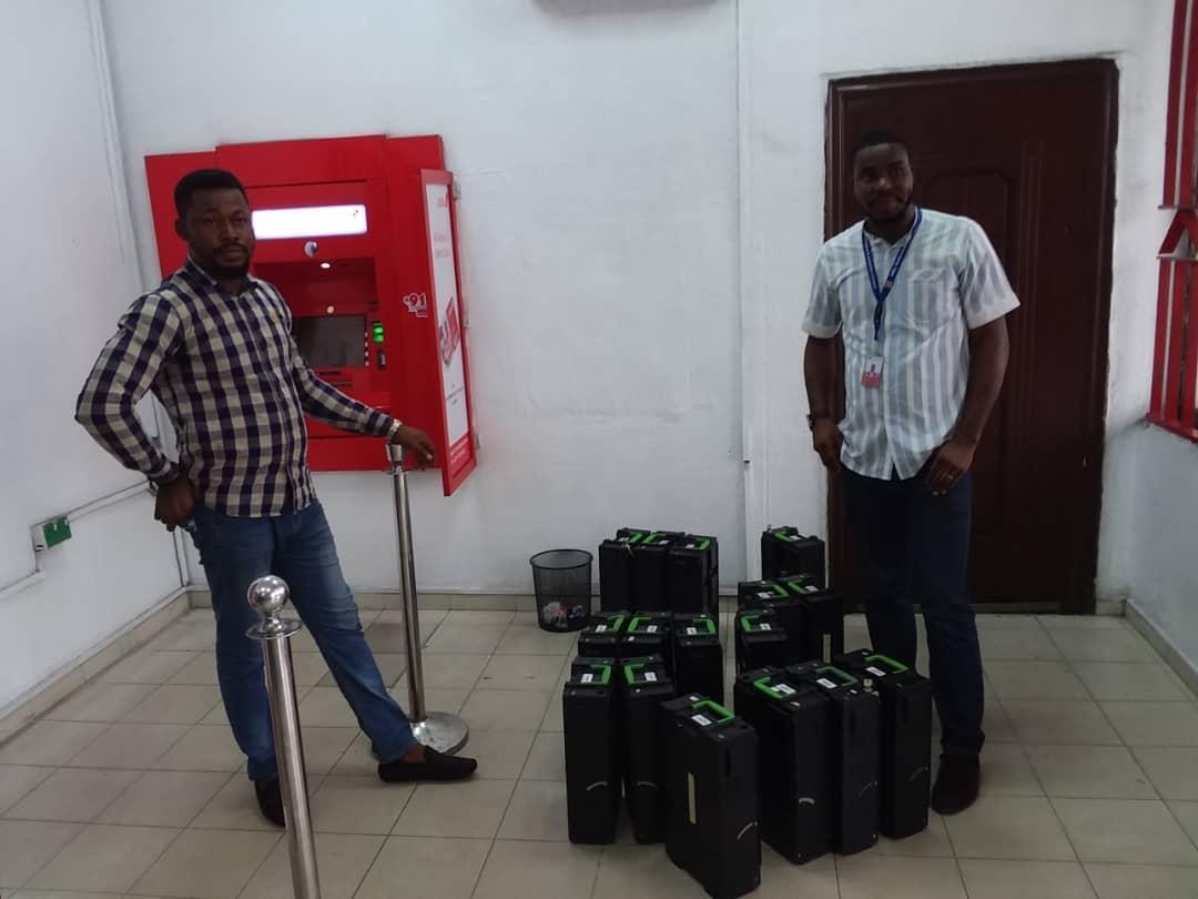 MEL-Technologies works at UBA Port Harcourt